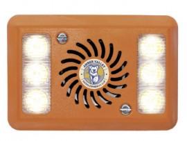 Amber Valley AVAL280W 12-24V 2 pod WHITE LED Alarmalight®