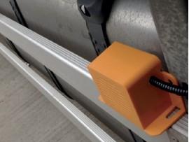 Amber Valley Sideminder Single UK SPEC LEFT TURN 12-24V