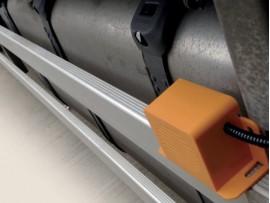 Amber Valley Sideminder Complete system UK SPEC LEFT TURN 12-24V