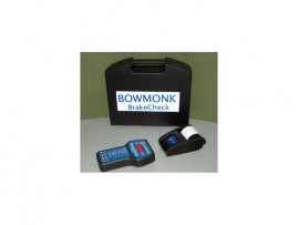 Bus and Coach portable brake test kit