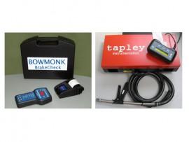 HGV & PSV portable brake and smoke inspection kit
