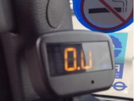 Brite Sparks Side scan left turn warning system for HGVs