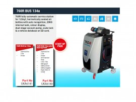 760R BUS-134A with Startup Pack