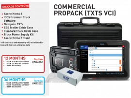 12 months COMMERCIAL PROPACK (TXTS VCI)