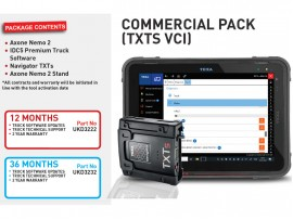 12 months COMMERCIAL PACK (TXTS VCI)