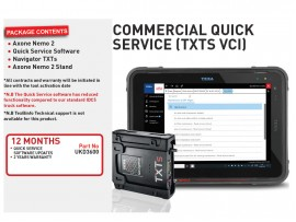 12 months Commercial Quickservice 1YR (M/Hub VCI)