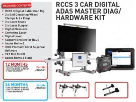12 months RCCS 3 CAR DIGITAL ADAS MASTER DIAG/ HARDWARE KIT
