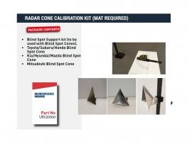 Radar Cone Calibration kit N.B. Requires Mat kit S12611
