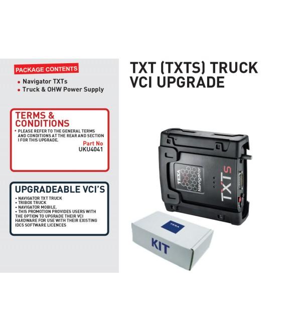 TXT (TXTS) TRUCK VCI UPGRADE