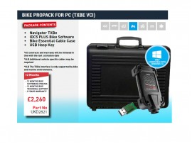 BIKE PROPACK FOR PC (TXBE VCI)