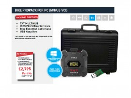 BIKE PROPACK FOR PC (TEXA NAVIGATOR TXT MULTIHUB VCI)