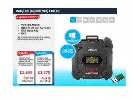 CAR/LCV (TEXA NAVIGATOR TXT MULTIHUB VCI) FOR PC