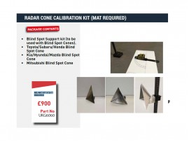 RADAR CONE CALIBRATION KIT (MAT REQUIRED)