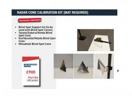 RADAR CONE CALIBRATION KIT (MAT REQUIRED)