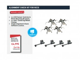 ALIGNMENT CHECK KIT FOR RCCS