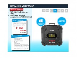 BIKE (TEXA NAVIGATOR TXT MULTIHUB) VCI UPGRADE