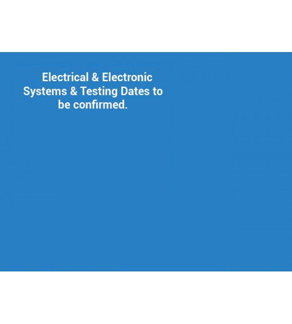 Electrical & Electronic systems training course